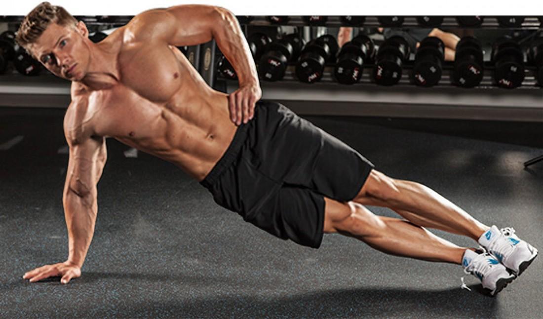 Развивай косые мышцы живота — делай боковую планку