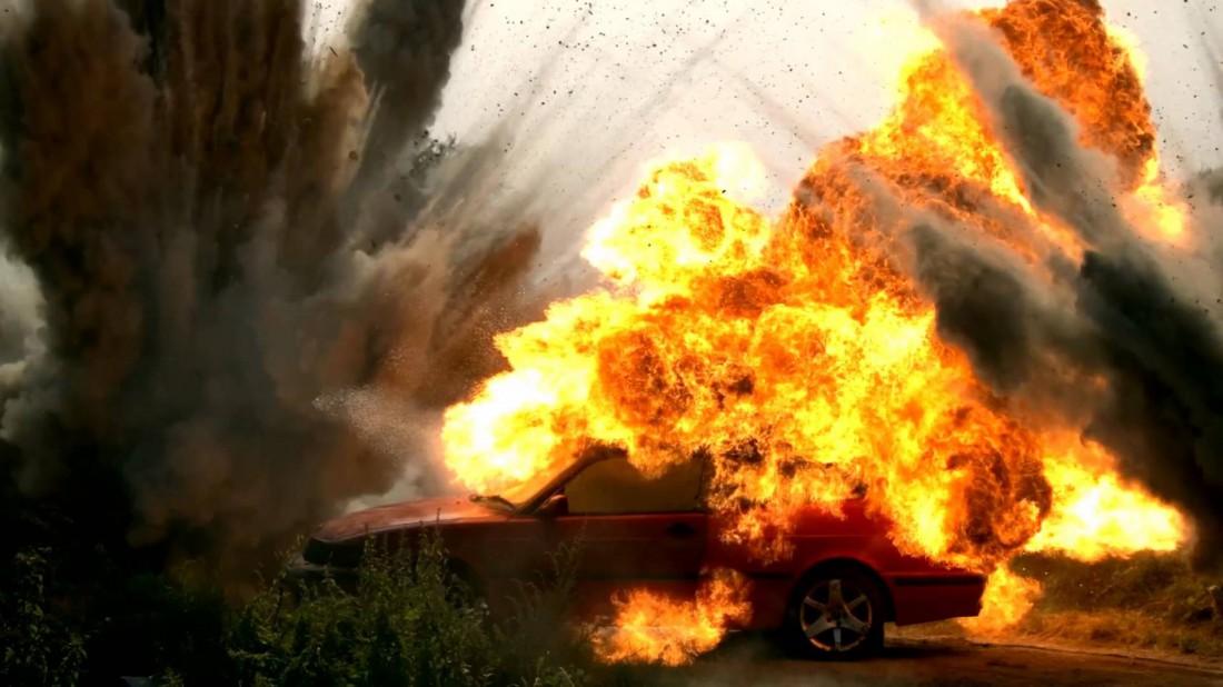 Не оставляй в салоне авто ничего взрывоопасного