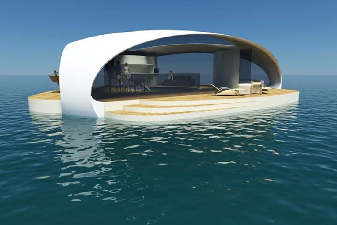 «SeaScape». Апартаменты для любителей спать рядом с рыбками