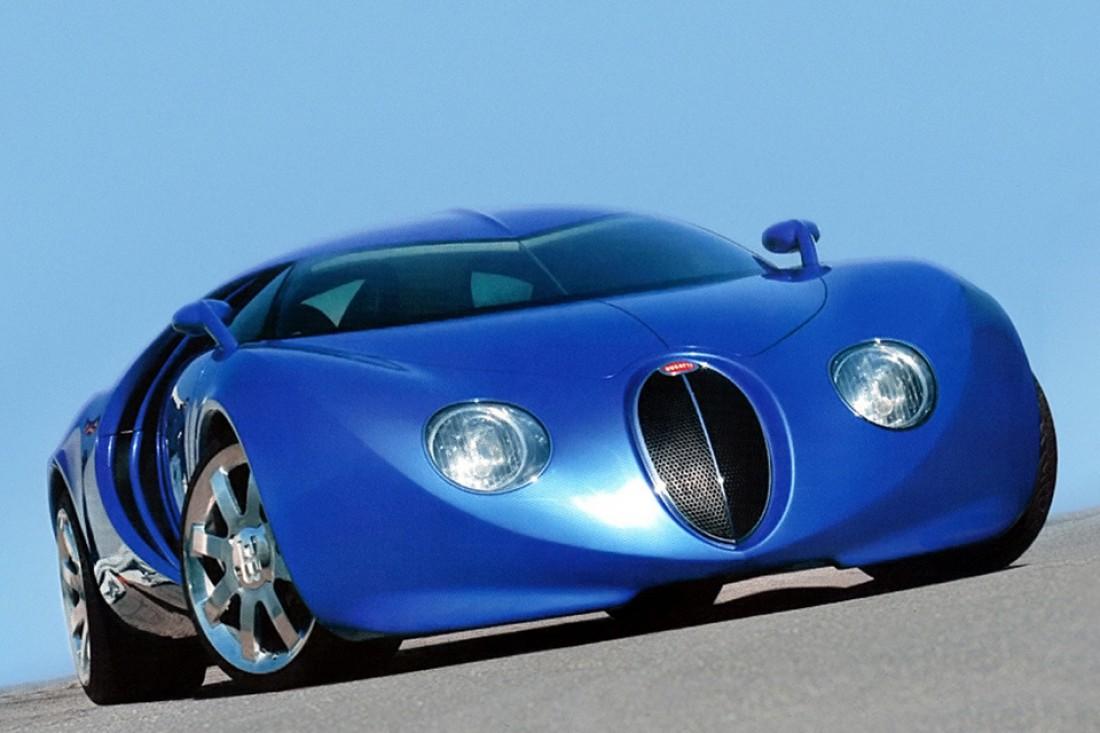 Один из концептов Bugatti Veyron