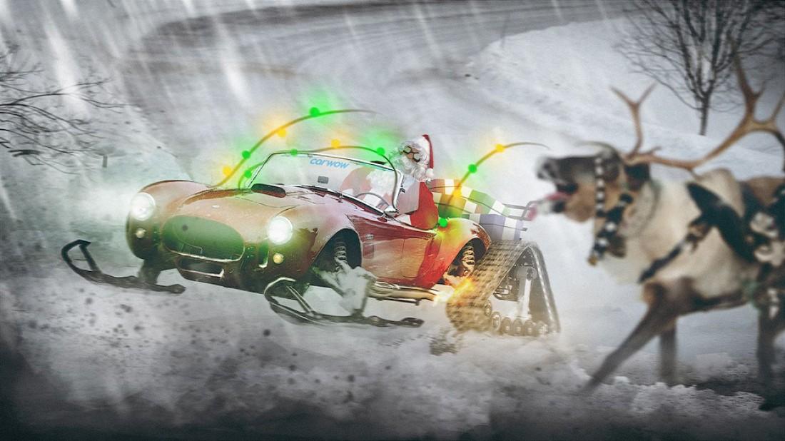Shelby Cobra — для езды по Лапландии