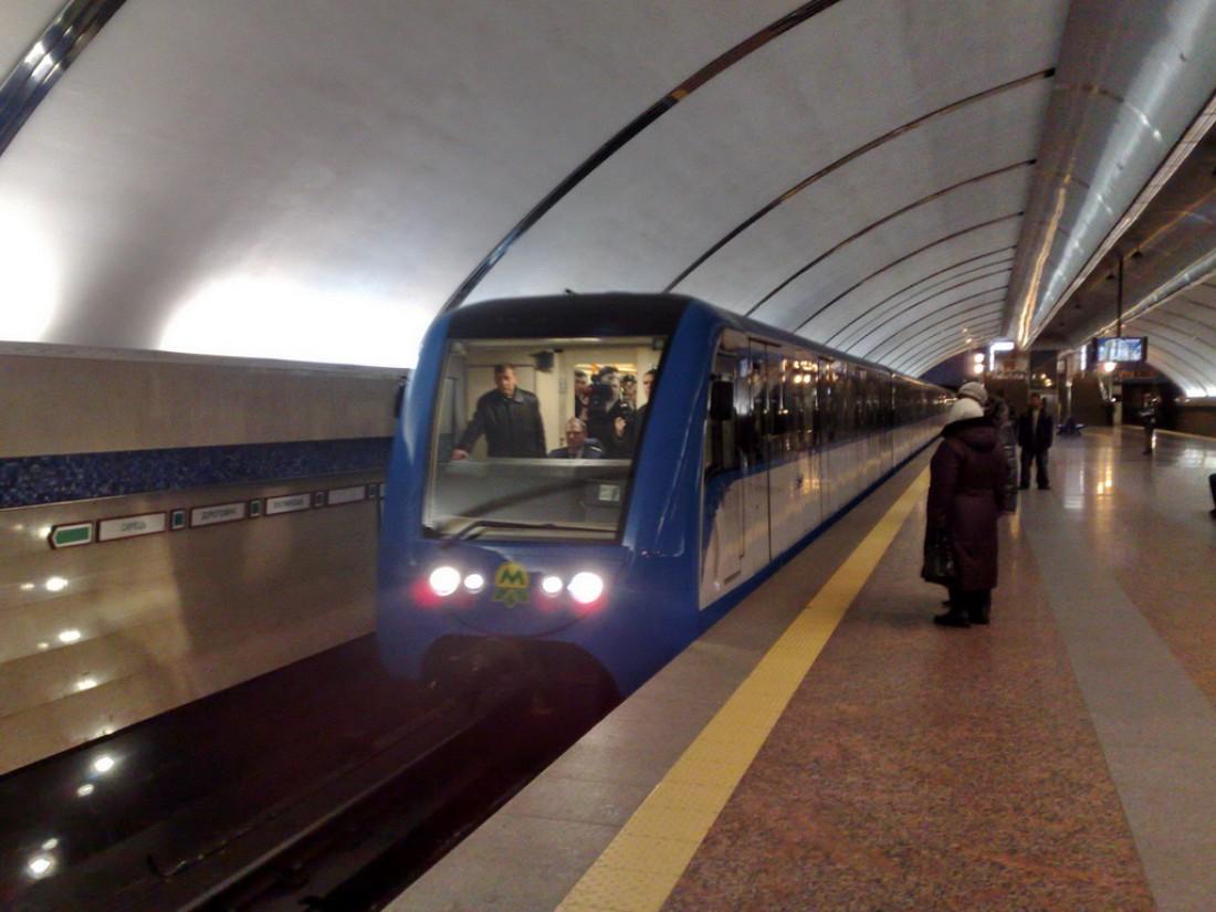 Киевский метрополитен. Лучший способ в час пик