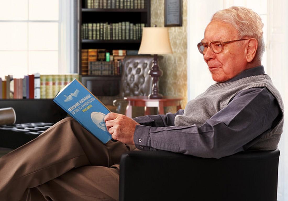 Уоррен Баффет в день читает не менее 500 страниц