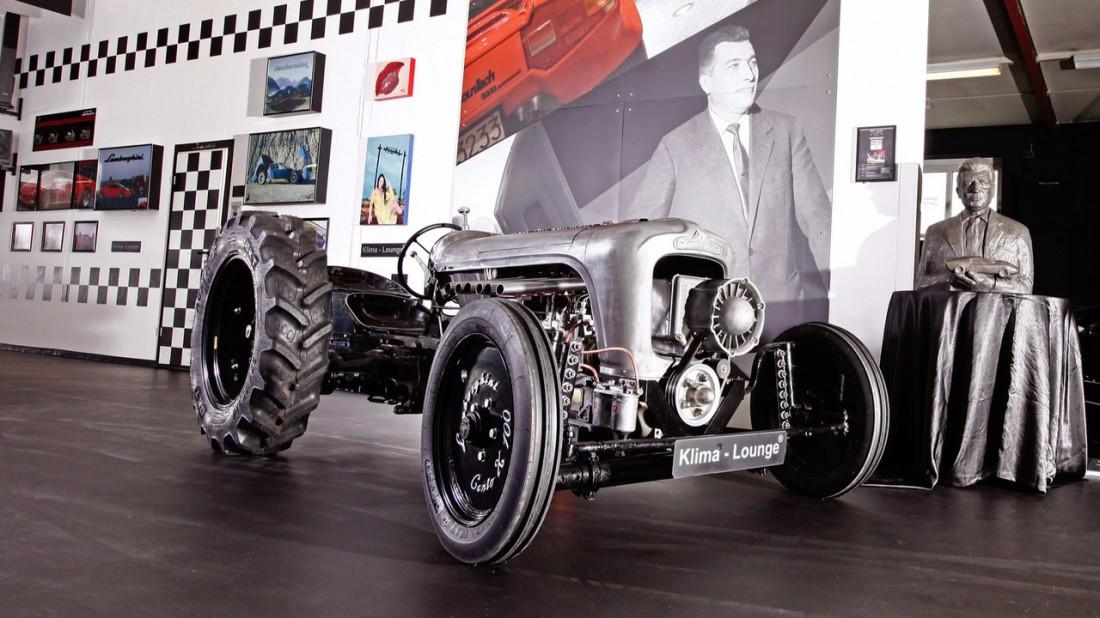 Lamborghini Centenario. Трактор за баснословные 250,000€