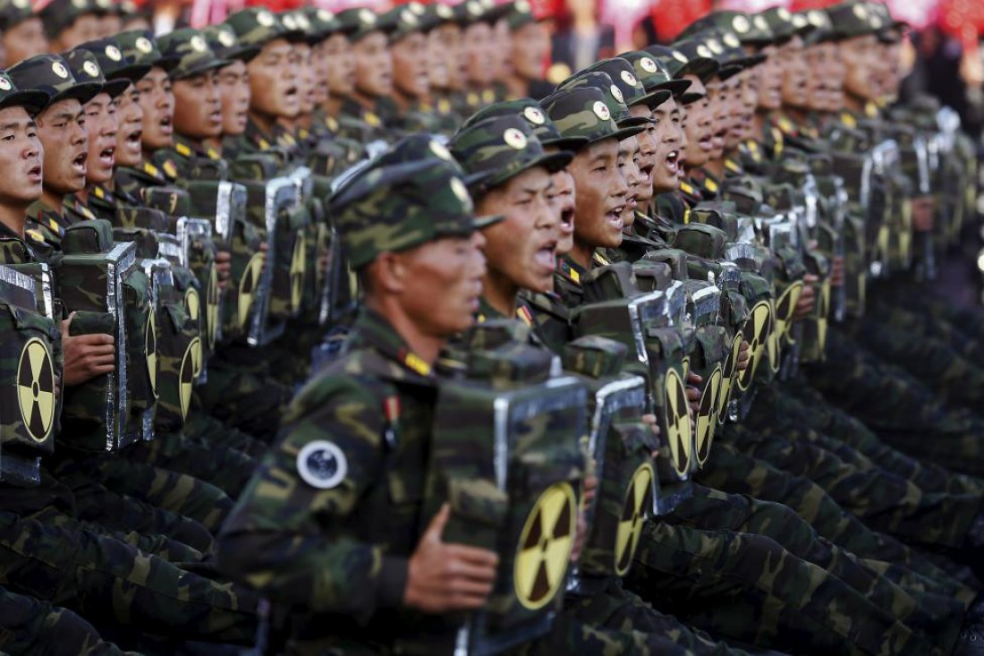 В честь 70-го дня рождения Трудовой партии Северная Корея показала всем свою военную мощь