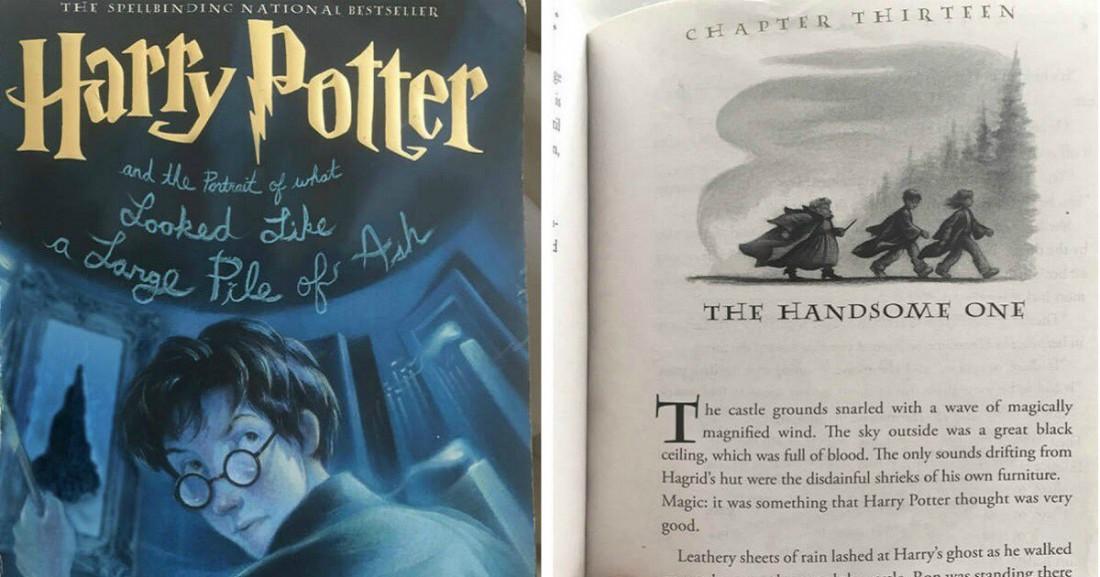 А так выглядит глава Гарри Поттера от ИИ