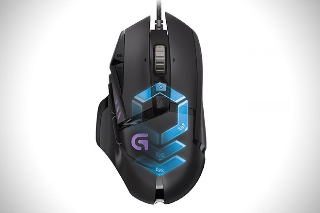 Logitech G502 Proteus — умная мышь для заядлых геймеров