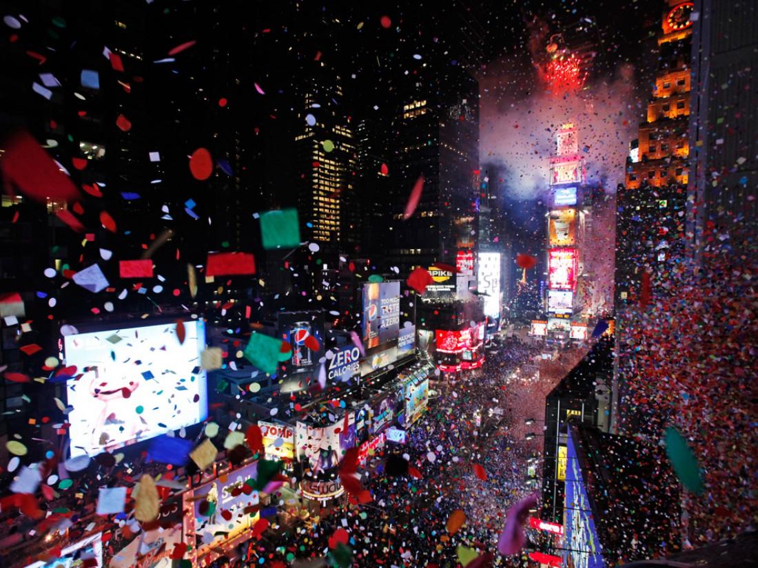 Нью-Йорк - один из самых рождественских городов мира
