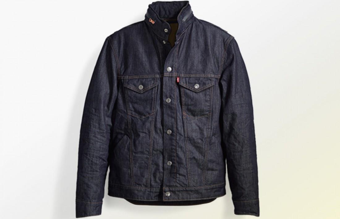 Джинсовая куртка Levi - 3200 грн