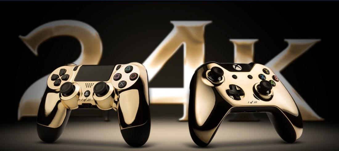Игровой джойстик из золота — вещь, которой будут рады не только геймеры