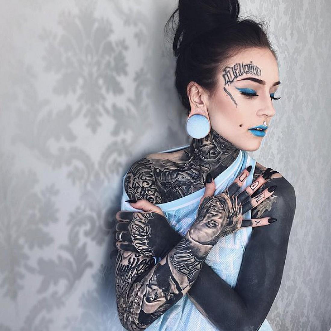 Blackwork — новый тату-тренд