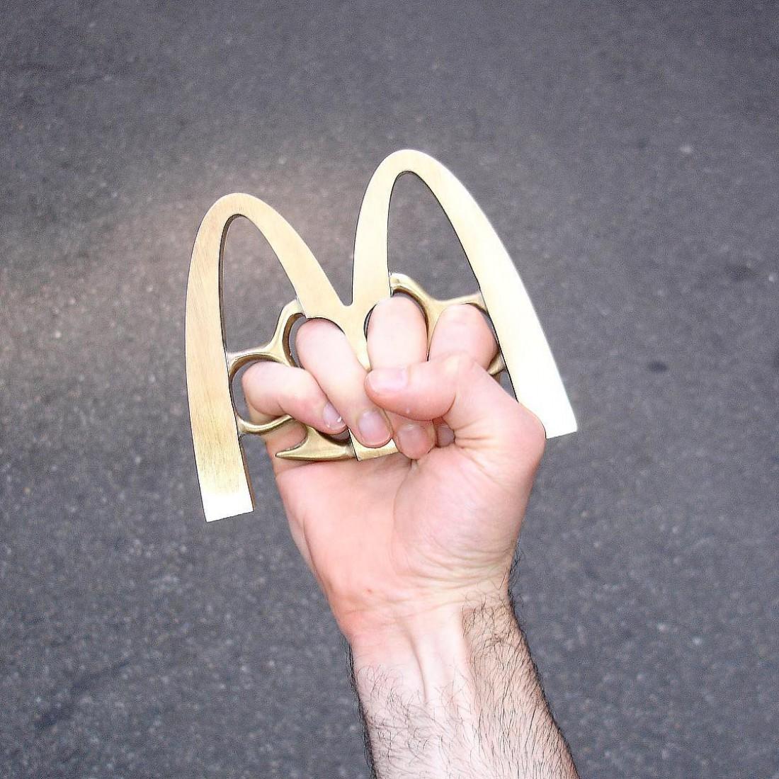 Тот самый McDonalds, которым можно врезать Nike