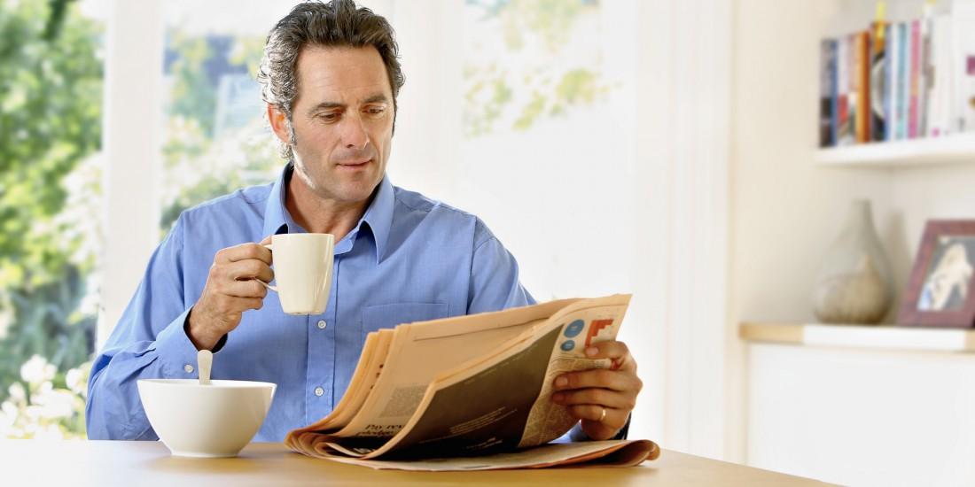 Просыпайся пораньше, чтобы успеть сделать все, и даже почитать газету