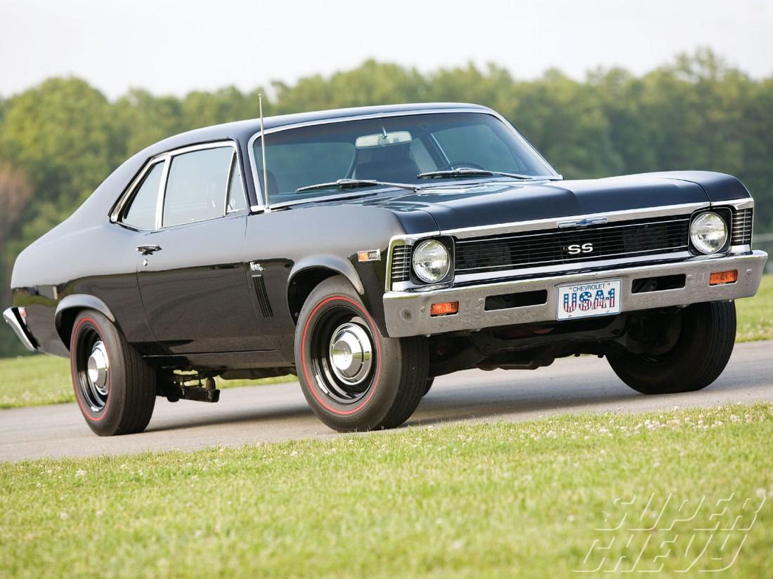 Внешне Chevrolet Nova не похож на машину, которая не едет