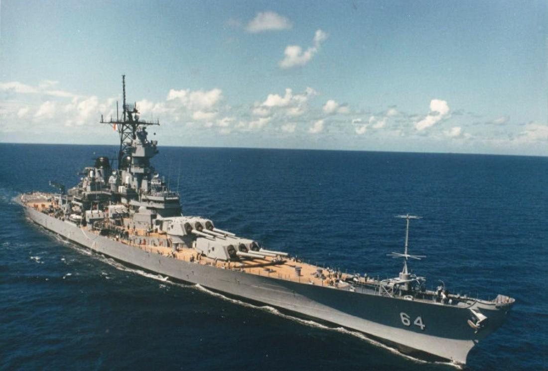 Висконсин. В годы Второй мировой сопровождал авианосные группы и поддерживал десантные операции