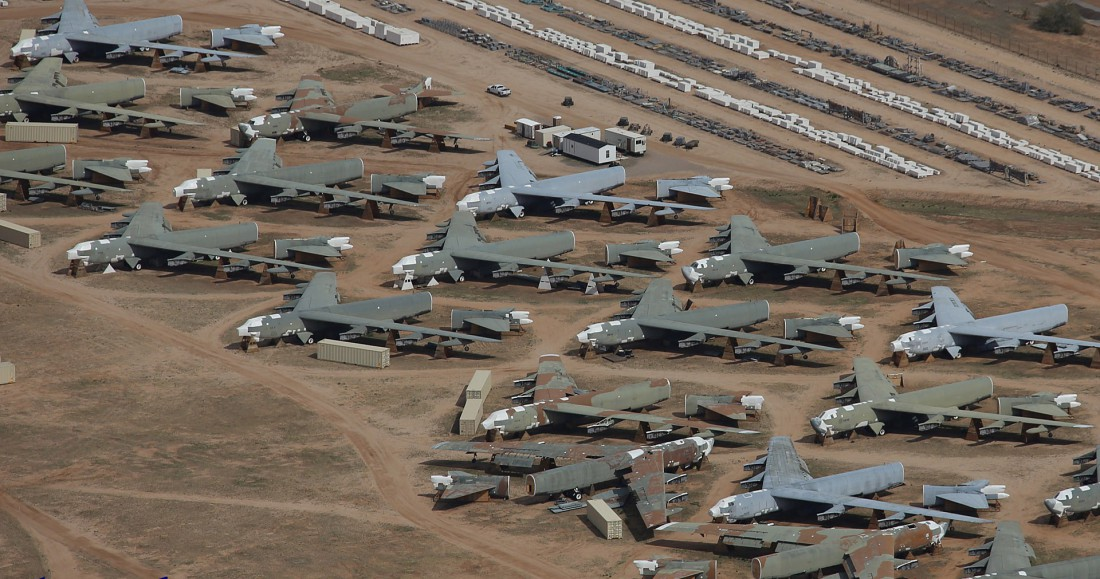 Davis-Monthan Air Force обслуживает персонал из 550-ти человек