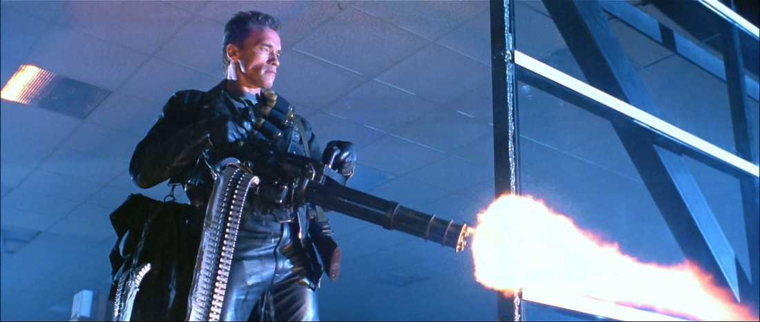 """M134 Multi-Barrel """"Minigun"""". Любимое оружие Терминатора, существующее в реале"""