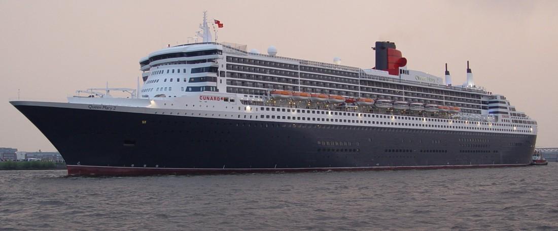 Queen Mary 2 — самый большой океанский лайнер в мире