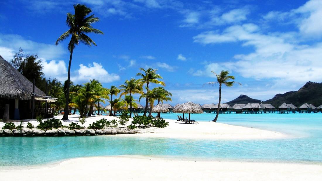 Один из пляжей Филиппин. Идеальное место для беззаботного отдыха