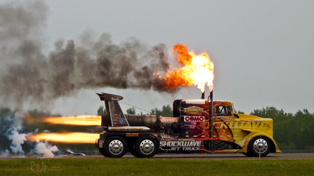 Peterbilt Jet Truck. Один из самых быстрых грузовиков в мире