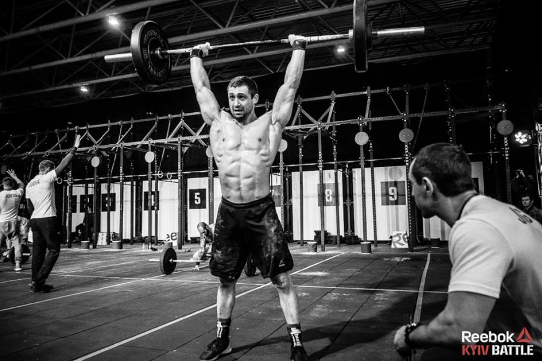 Элита украинского CrossFit, Валентин Литвинчук
