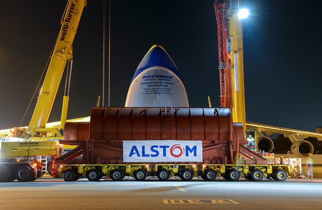 Генератор весом 190 тонн. Пакуют в Ан-225