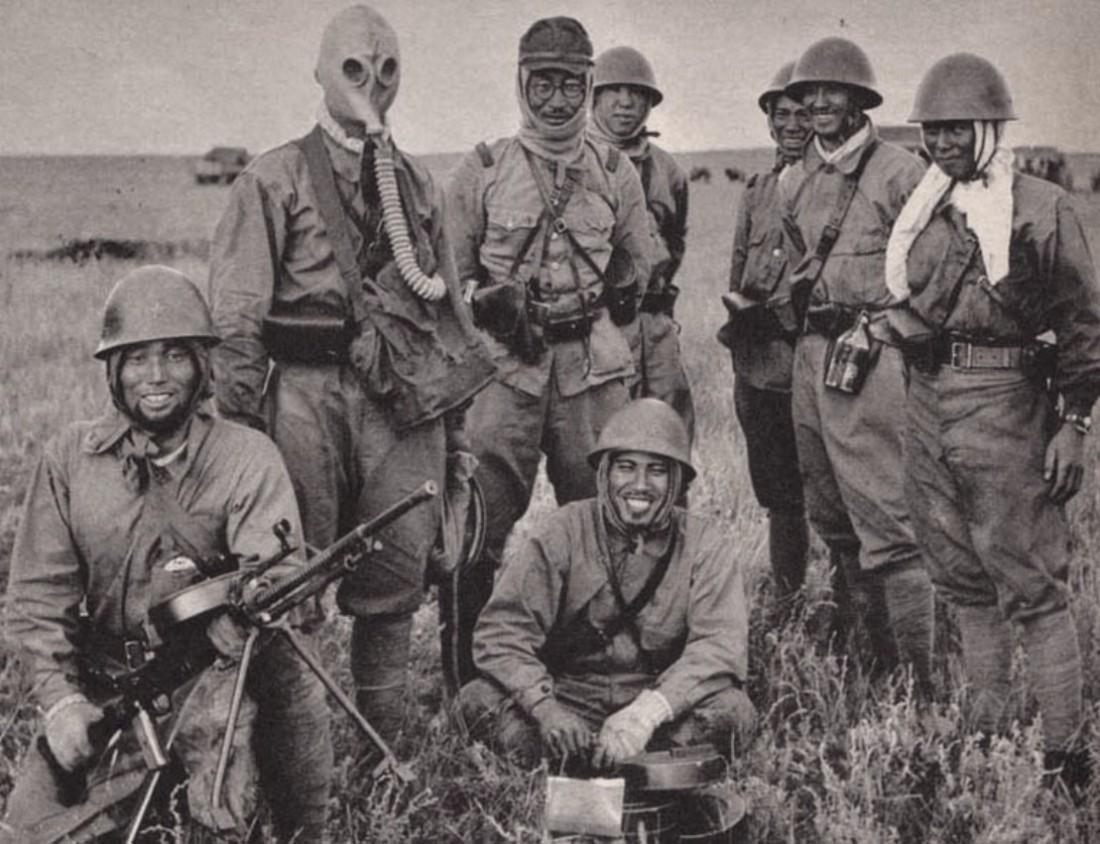 Японские солдаты. Перед смертью любили кричать