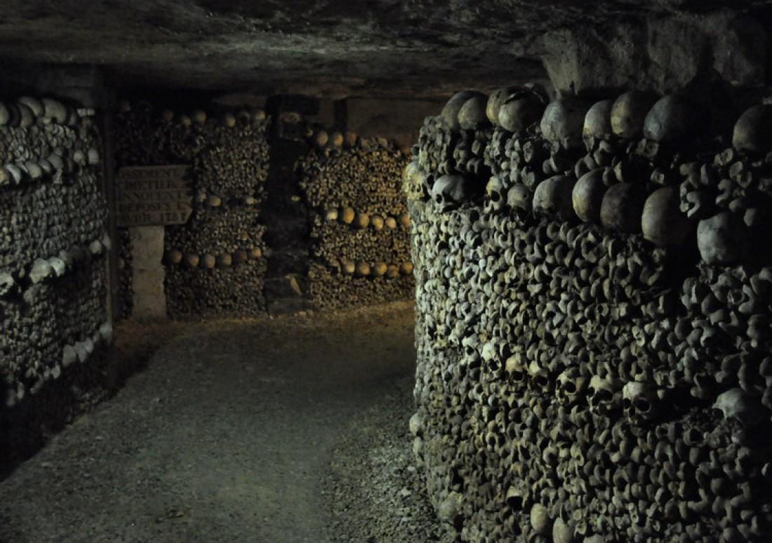 Кости с кладбища Невинных — одного из самых старых в Париже