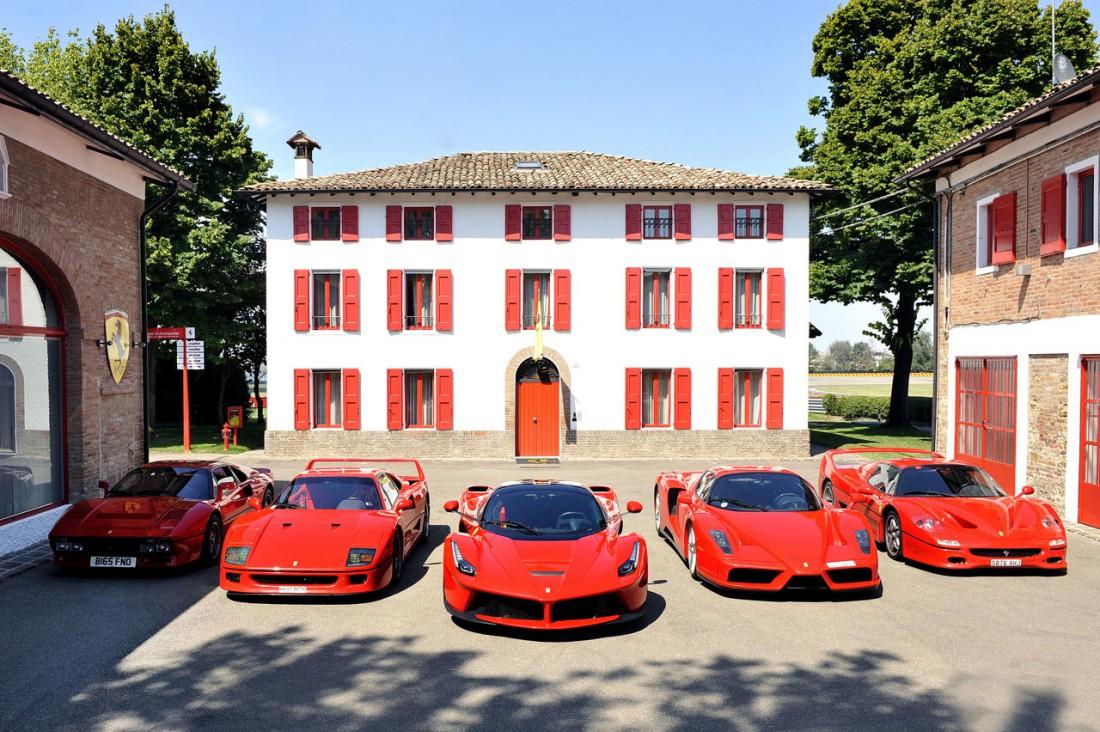 А на какой из этих Ferrari хотел бы кататься ты?