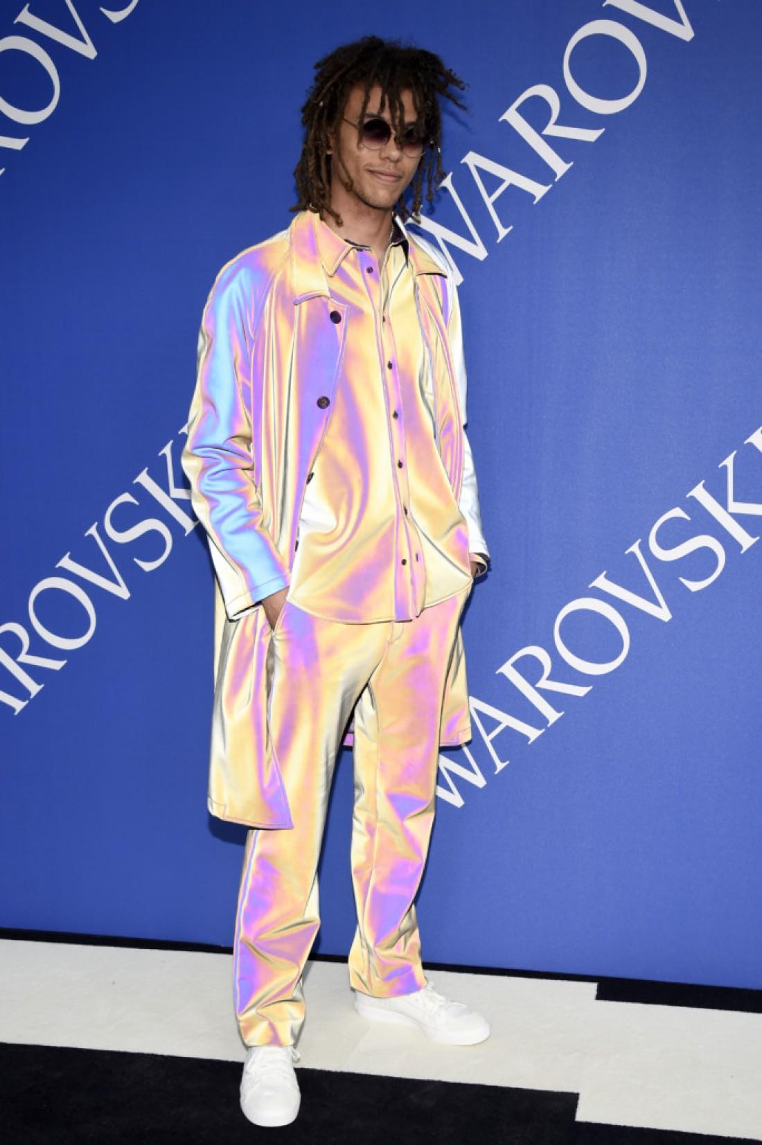 Роберто Росселлини на церемонии CFDA в Нью-Йорке