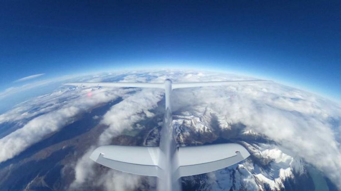Airbus Perlan II способен летать в районе границы земной атмосферы и космоса