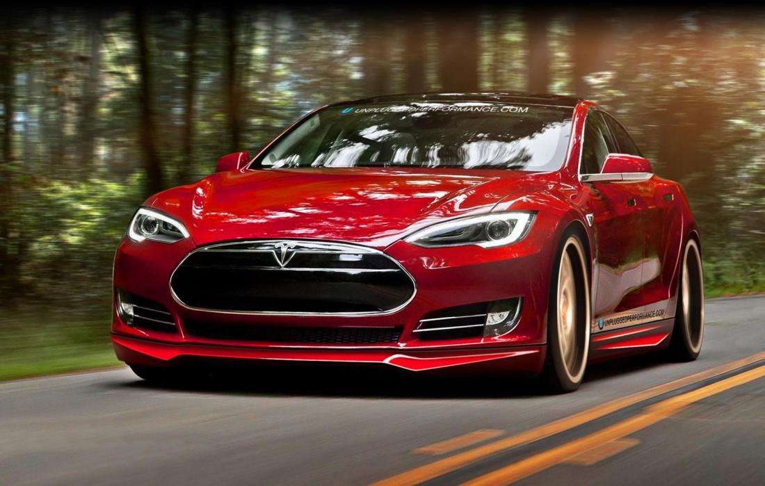 Tesla Model S P85D. На данный момент самый шустрый серийный электрокар