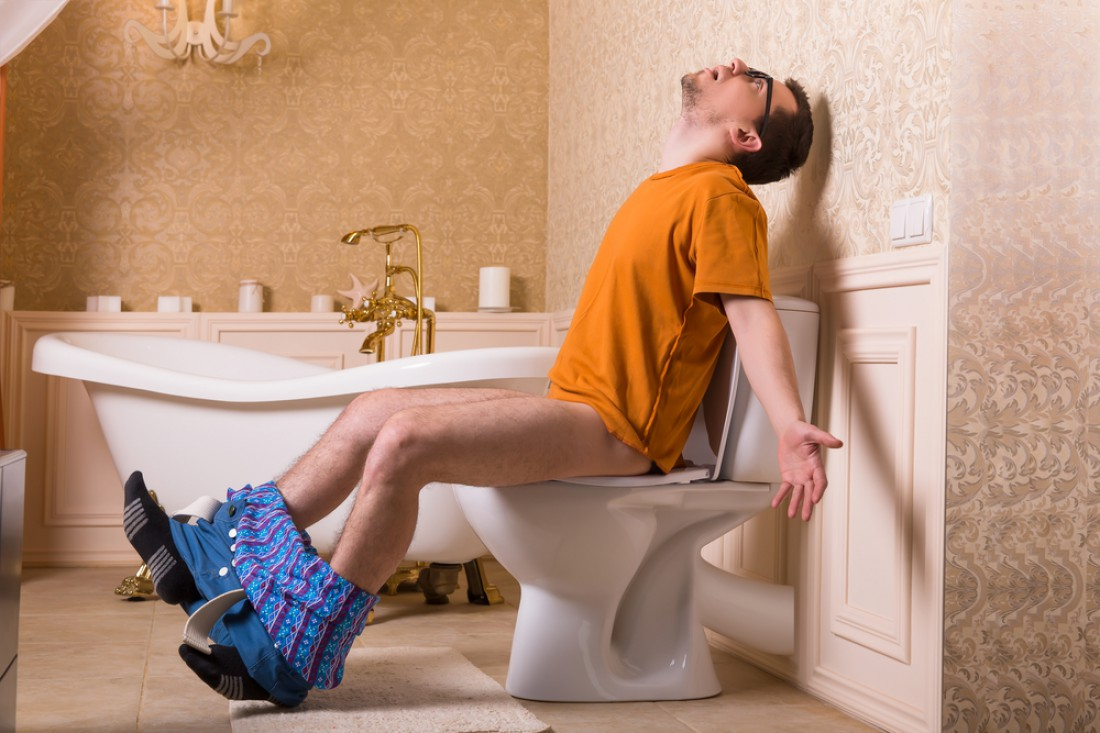Туалет — место, в где обитаешь дольше, чем на тренировках