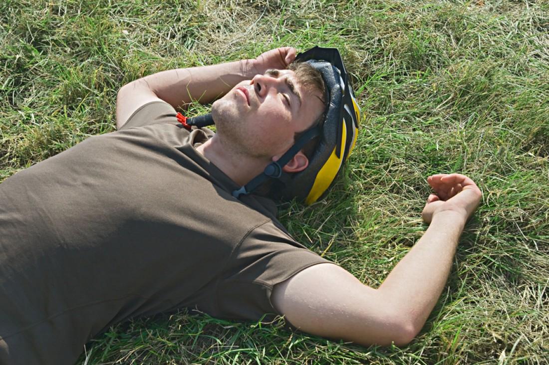 Одна из причин спортивных травм — переутомление