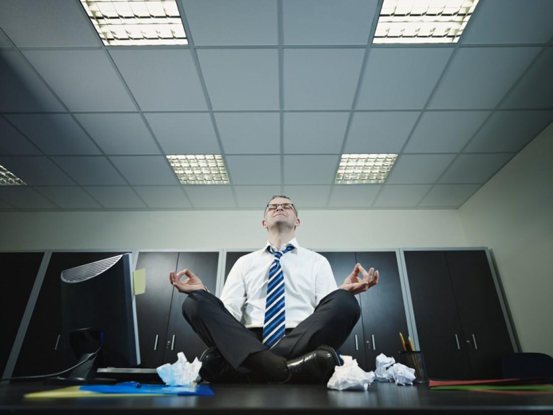 Чтобы не было стресса, учись медитировать и правильно дышать