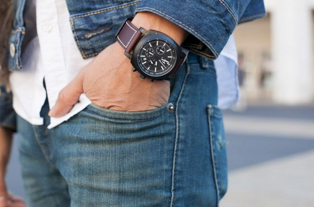 Наручные часы — важная деталь мужского стиля