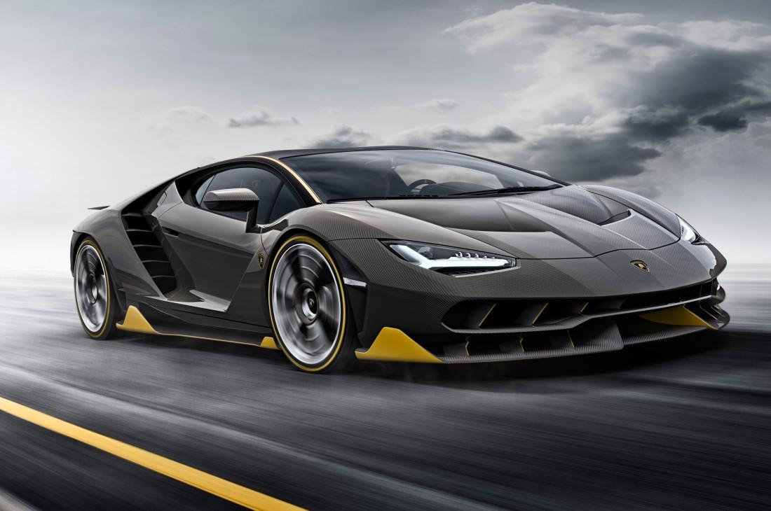 Первый электрокар в истории Lamborghini