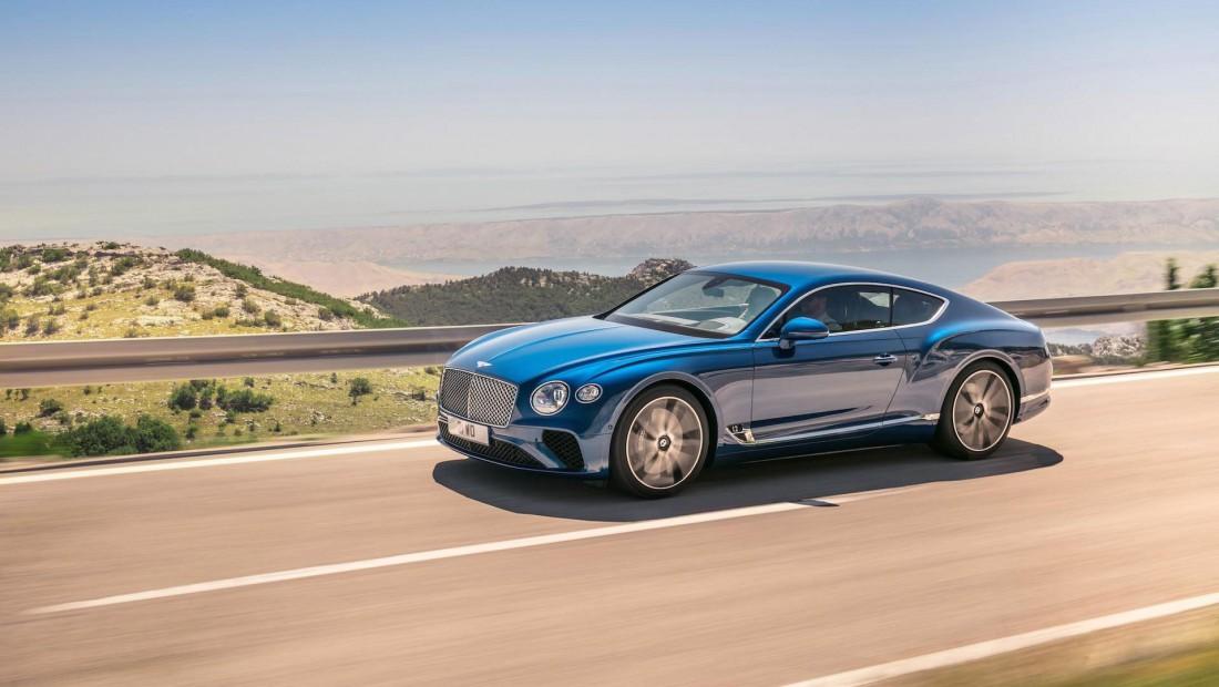 В систему Bentley Continental зашиты 2 пакета вождения: City и Touring