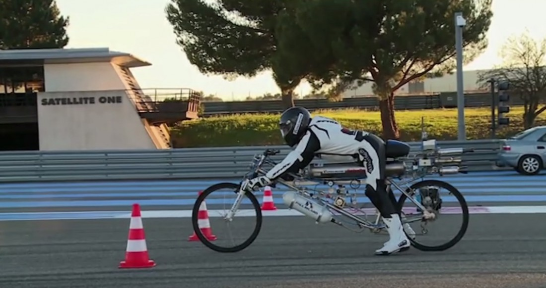 Велоракета и Франсуа Жисси. Стартуют