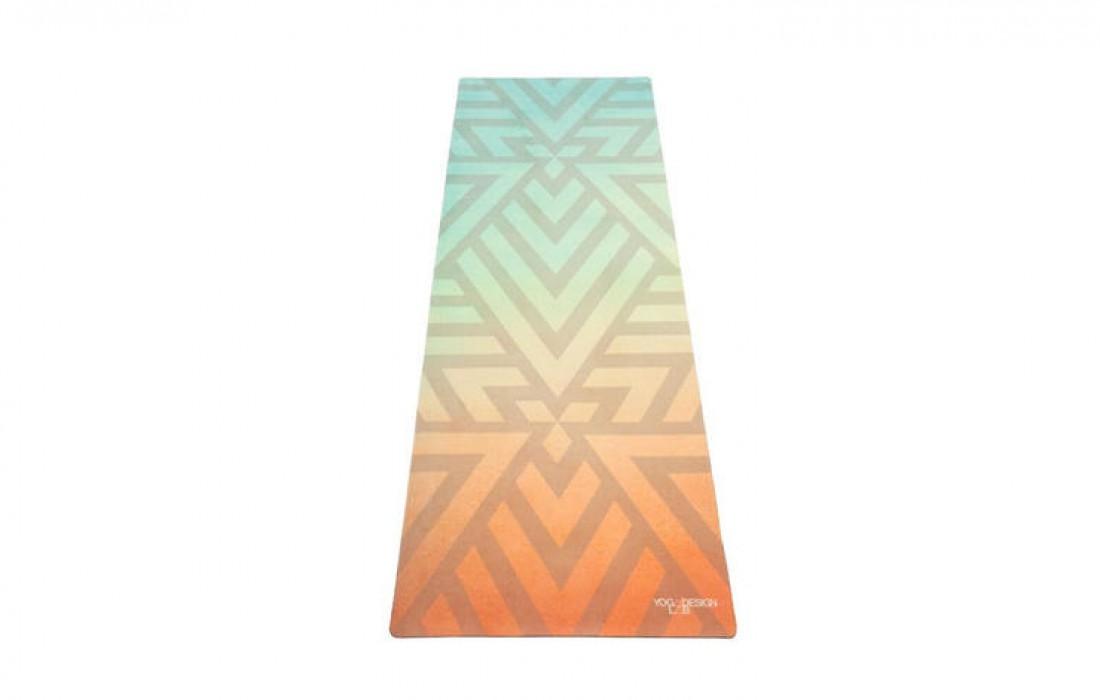 Коврик для йоги из биоразлагаемого каучука — $54