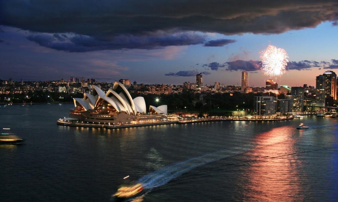 Австралия любит веселиться