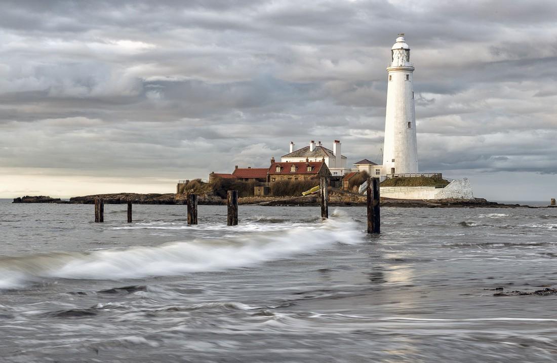 Маяк Святой Марии, остров Бэйт, Англия