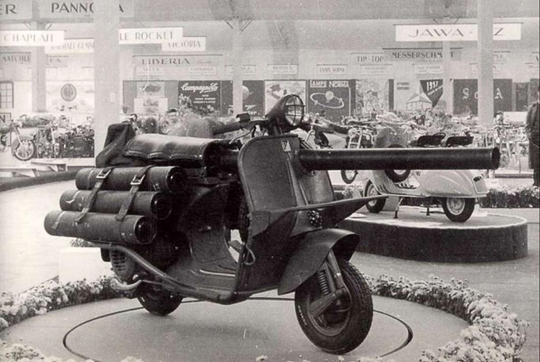 Vespa 150 TAP образца 1965-го года