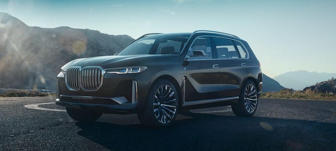 BMW X7. Ожидаемый старт продаж — к концу 2018