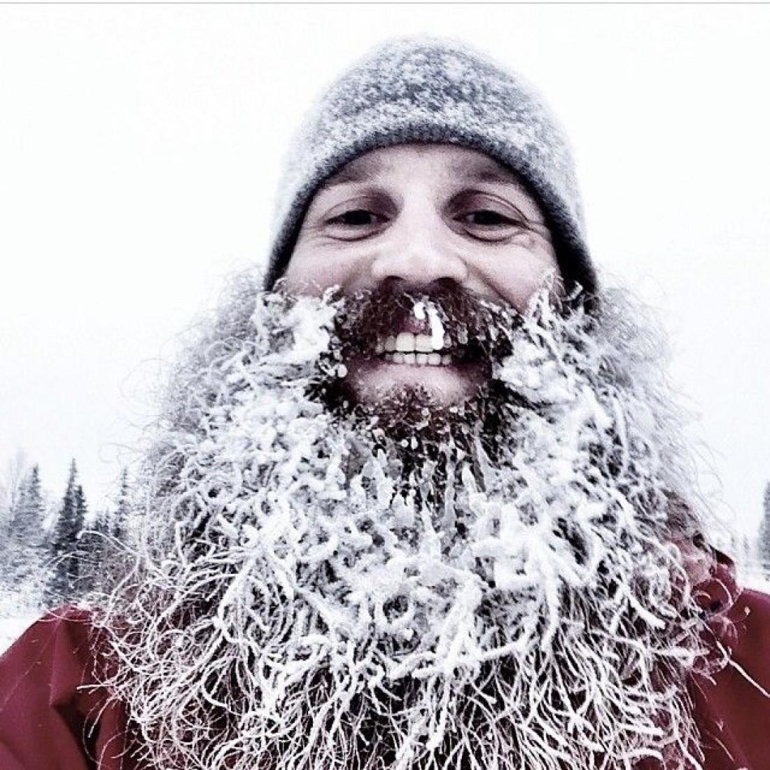 Как утеплить лицо зимой — отпусти пушную бороду и усы
