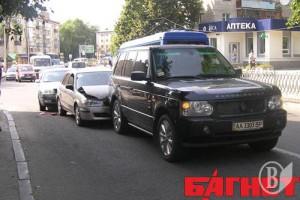 ДТП с Range Rover Ляшко