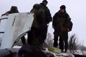 В Донецке перевернулся автобус с боевиками ДНР