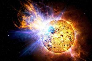 Вспышку на Солнце вызвала комета