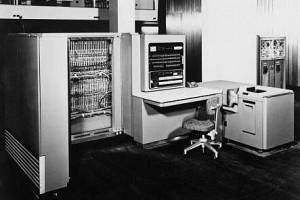 IBM 701 - первый большой компьютер на лампах