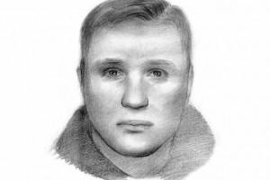 Фоторобот преступника, составленный КГБ республики Беларусь